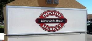 New Monument Faces - Boston Market Logo