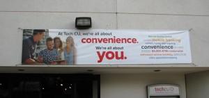Digitally Produced Banner - Tech CU