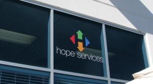 Contour Cut Graphics - Hope Services