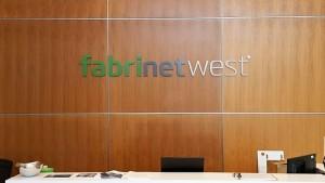 Acrylic Lobby Letter Sign - Fabrinet West