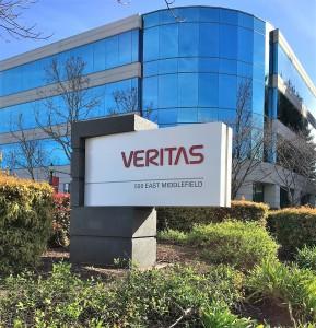 Custom Monument with Dimensional Logo - Veritas