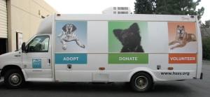 New Vehicle Graphics - Humane Society