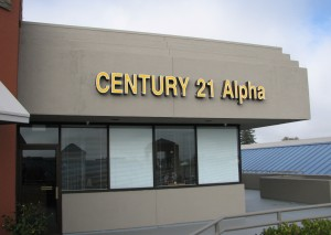 LED Channel Letters - Century 21