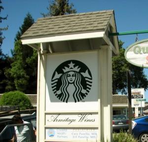 Starbucks Updated Mermaid Logo Sign