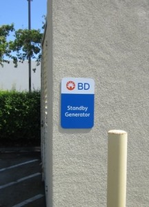 Panel Sign - BD Biosciences