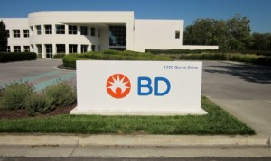 Monument Sign - BD Biosciences