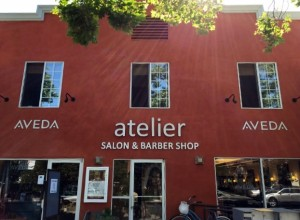 Dimensional Letters Sign - Atelier Salon