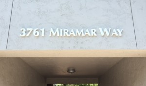 Dimensional Address Sign