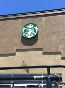 Illuminated Logo - Starbucks