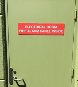 Basic Aluminum Door Signs