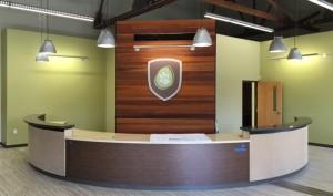 Lobby Shield Sign - Sage Veterinary