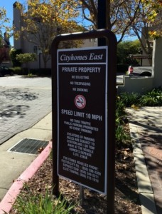 Property Sign - Refurbished