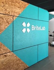 Lobby Logo Sign - BriteLab