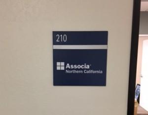 Suite Sign - ADA - Associa