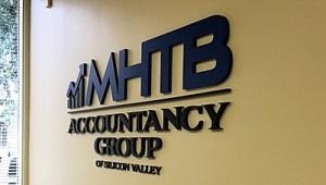 Lobby Sign - MHTB Accountancy