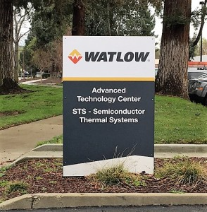 Entry Monument Sign - Watlow - STS