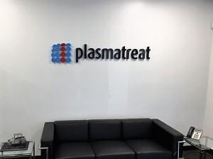 Dimensional Lobby Sign - Plasmatreat