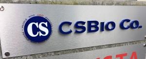 Dimensional Logo Sign - CS Bio